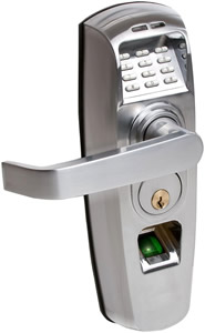 ReliTouch Handle Lock - Satin Chrome