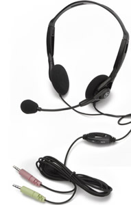 PC Microphone Stereo Headset