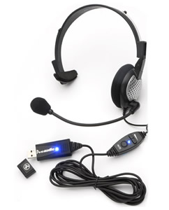 USB High Quality Digital Monural Headset