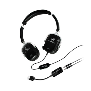 SB-405 Black Both Ear Headset w/mics