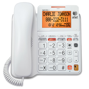 Corded Answering System w/Large Display
