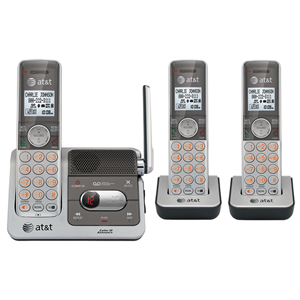 DECT 6.0 digital three handset answering