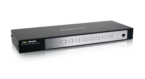 8 Port HD Audio/Video Switch w/...