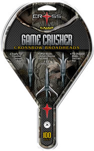 Cross Gamecrusher 100 Grain Broadheads 3