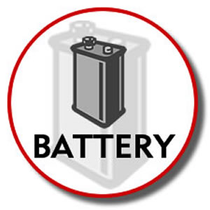 3.6V Battery for KX-TG2300