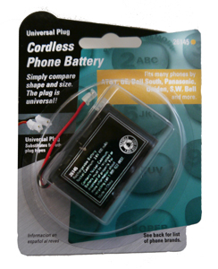 BATTERY FOR ATT-TL7600 HEADSETS
