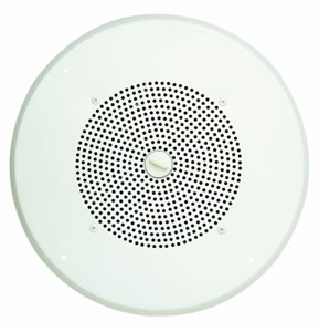 1W Self Amplified Ceiling Speaker White
