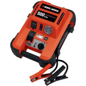 Black Decker 500 amp starter/compresso