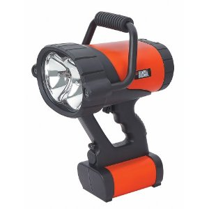 Black Decker V3 Rechargeable Spotlight