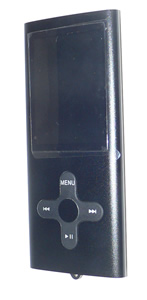 Media player with camera - black