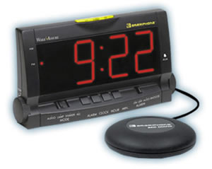 Wake Assure Alarm Clock 85dB - Black