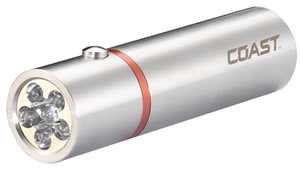 A20 Stainless Steel LED Flashlight