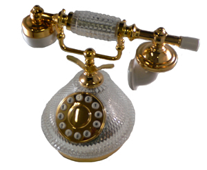 GEE409 French Crystal Phone