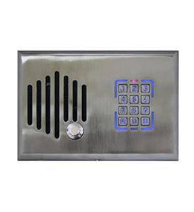 SATIN NICKEL TELEPHONE ENTRY