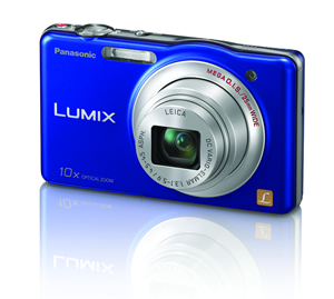 Panasonic 16.1mp camera BLUE