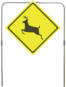 Impact Seal Deer Crossing Hanging Target