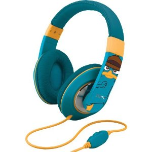 Phineas and Ferb Over-the-ear headphones