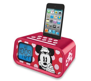 Minnie Mouse Alarm Clock/iPod Dock