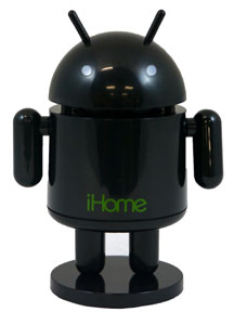 Rechargeable Robot Speaker (Black)