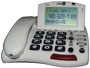 50dB Amp Speakerphone WHITE