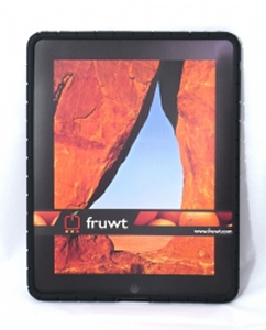 Skin for iPad w Screen Protector - BLACK