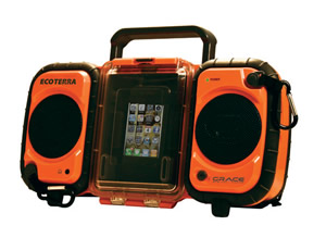 Orange Eco Terra Waterproof Case