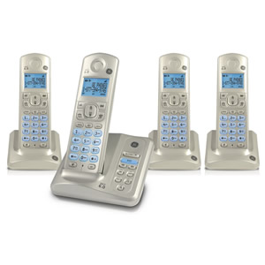 Four Handset Cordless Phone