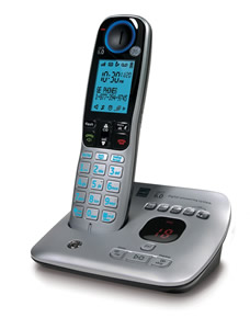 Cordless phone with caller ID/call waiti