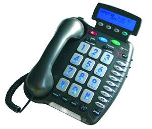 Premium Amplified Speakerphone w/Call ID