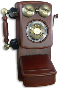 Country Wood Phone MAHOGANY