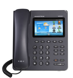 Enterprise Multimedia Gigabit IP Phone