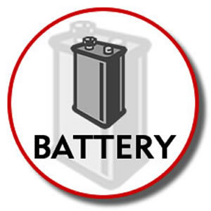 Battery for KX-TG2300 Series