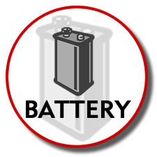Battery for KX-TG2400 Series