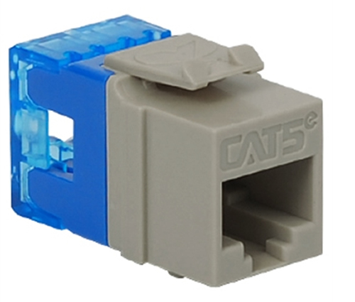 MODULE, CAT 5e, HD, GRAY