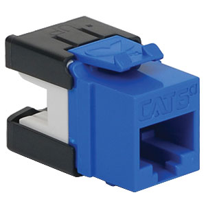 MODULE, CAT6A, HD, BLUE