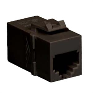 MODULE, COUPLER, RJ-11, PIN 1-1, BLACK