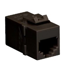MODULE, COUPLER, RJ-11, PIN 1-6, BLACK