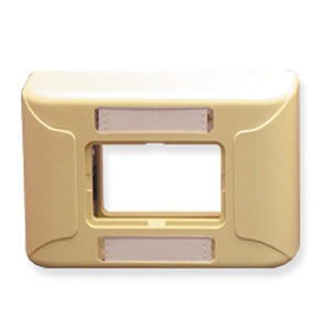 Furniture Faceplate 1Port - Ivory