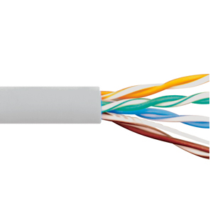 CAT5e CMP PLENUM CABLE WHITE