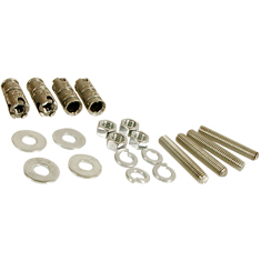 RACK FLOOR MOUNT KIT, CONCRETE