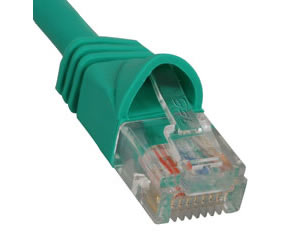 PATCH CORD CAT 6 MOLDED BOOT 14