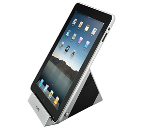 Stereo speaker system for iPad, iPhone..