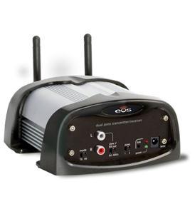 Dual-Zone Wireless Transmitter/Receiver