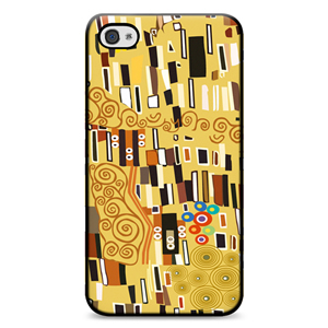 Klimt, Chic Hardshell iPhone 4 Case Yell
