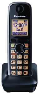 Black Extra Handset for DECT 6.0+