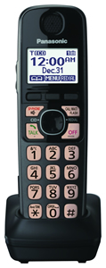 Dect 6.0+ Accessory Handset in Black