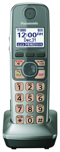 Dect 6.0+ Accessory Handset in Silver