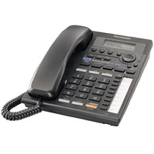 2 Line Speaker w/ Intercom - Black
