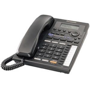 2 Line Speaker w/ Intercom - Black