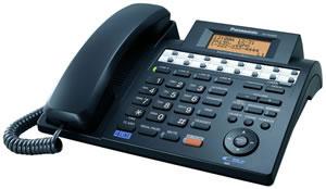 4-Line Speakerphone w/ Caller ID - Black